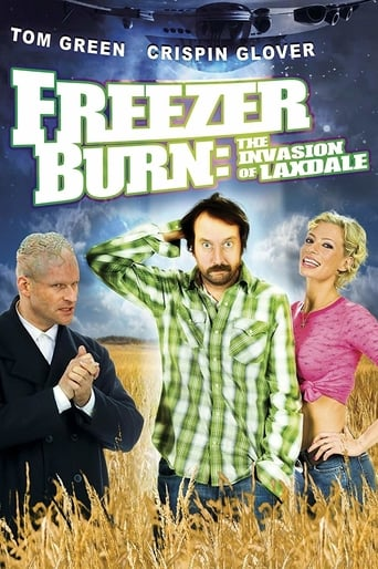 Poster of Freezer Burn: The Invasion of Laxdale