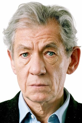 Ian McKellen alias Cogsworth
