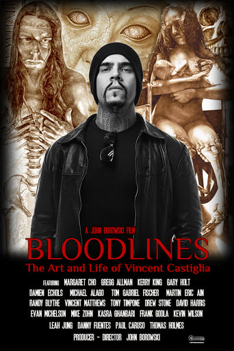 Poster of Bloodlines: The Art and Life of Vincent Castiglia