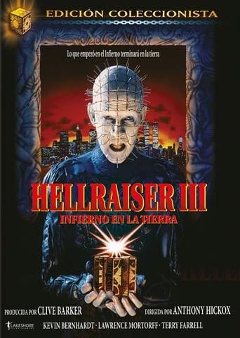 Poster of Hellraiser III: Infierno en la tierra