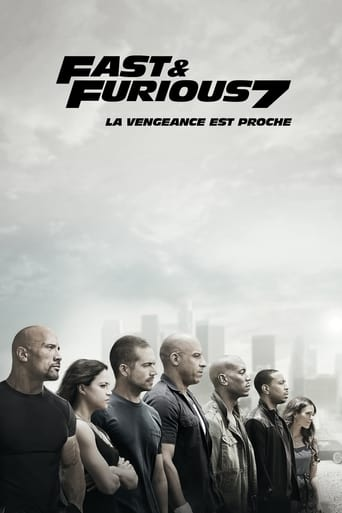 Poster of Fast & Furious 7