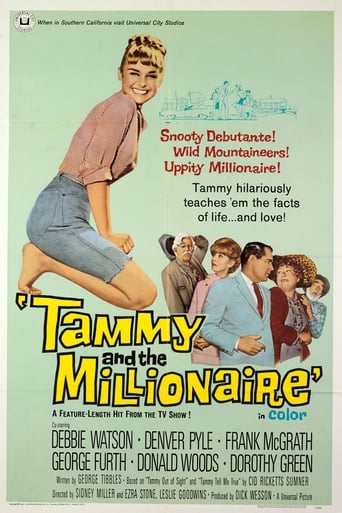Poster of Tammy and the Millionaire