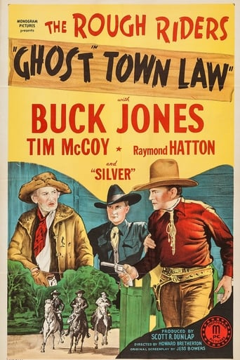 Poster of Ghost Town Law