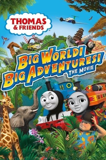 Poster of Thomas & Friends: Big World! Big Adventures! The Movie