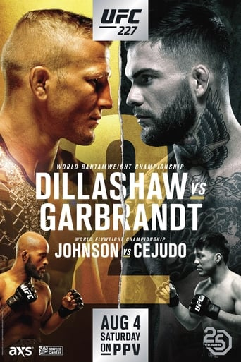Poster of UFC 227: Dillashaw vs. Garbrandt 2