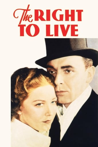 Poster of The Right to Live