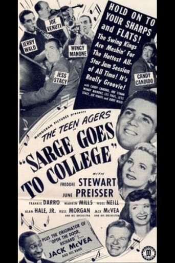 Poster of Sarge Goes to College