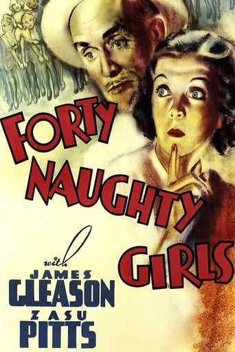 Poster of Forty Naughty Girls