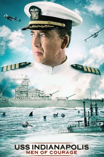 The USS Indianapolis: Men of Courage (2016) movie poster image