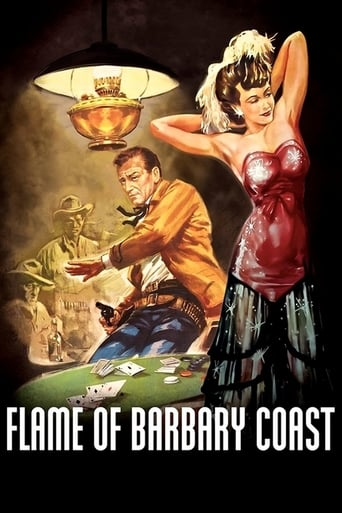 Poster of Flame of Barbary Coast