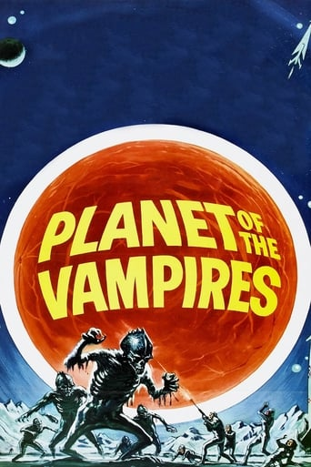 Poster of Planet of the Vampires