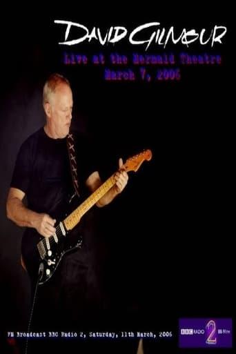 David Gilmour at London Mermaid Theatre