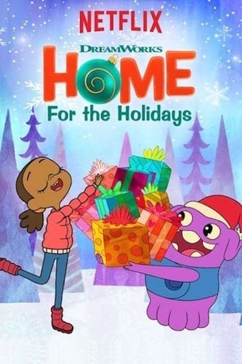 Poster of DreamWorks Home: For the Holidays