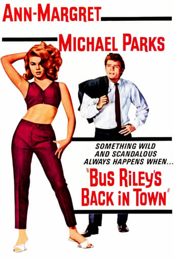 Poster of Bus Riley's Back in Town