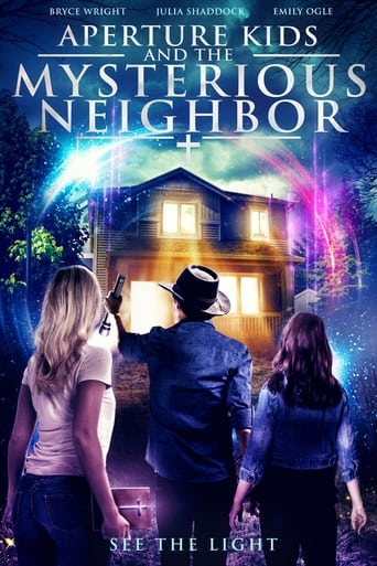 Aperture Kids and the Mysterious Neighbor Poster