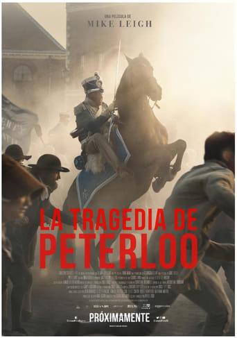 Poster of La tragedia de Peterloo