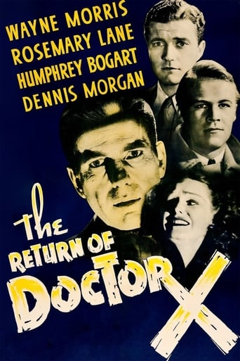 Poster of The Return of Doctor X