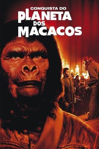 A Conquista do Planeta dos Macacos - Poster