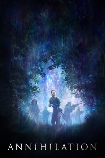 Official movie poster for Annihilation (2018)