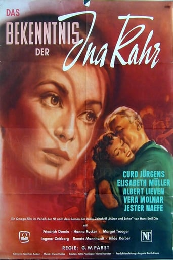 Watch The Confession of Ina Kahr 1954 full online free