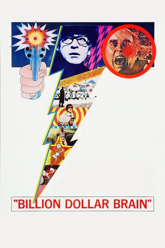 Billion Dollar Brain (1967) - poster