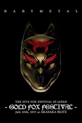 Poster of Babymetal - The Five Fox Festival in Japan - Gold Fox Festival