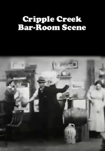 Cripple Creek Bar-Room Scene Movie Poster