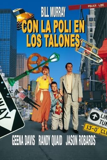 Poster of Con la poli en los talones