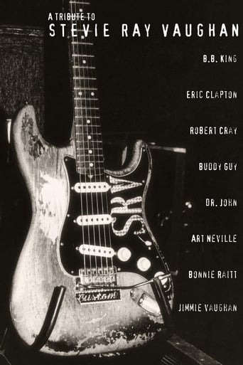 Poster of A Tribute to Stevie Ray Vaughan