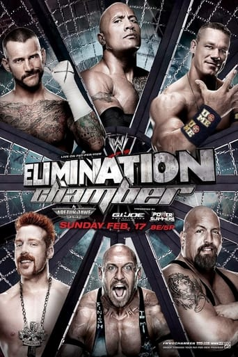 Poster of WWE Elimination Chamber 2012