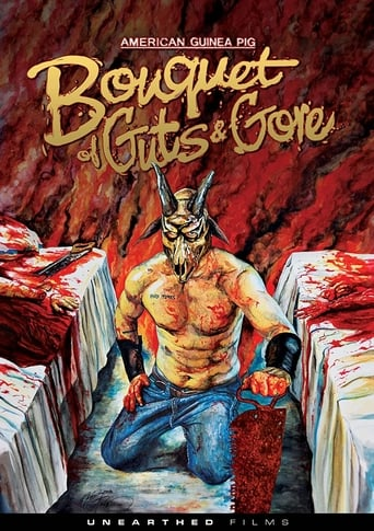 Poster of American Guinea Pig: Bouquet of Guts and Gore