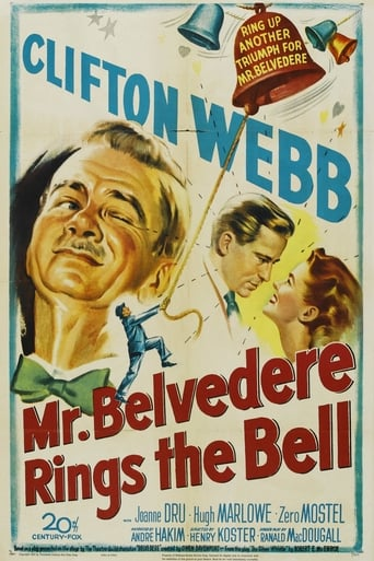 Poster of Mr. Belvedere Rings the Bell