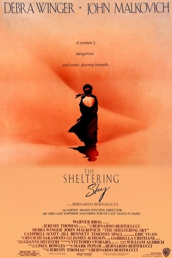 Poster of The Sheltering Sky