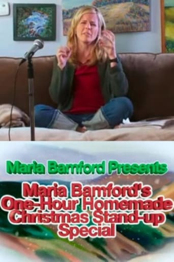 Poster of Maria Bamford's One-Hour Homemade Christmas Stand-up Special