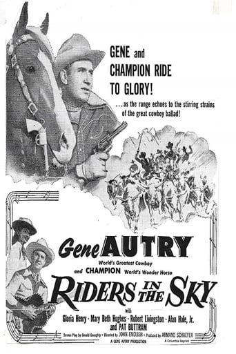 poster of Riders in the Sky