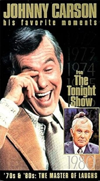 Poster of Johnny Carson - His Favorite Moments from 'The Tonight Show' - '70s & '80s: The Master of Laughs!