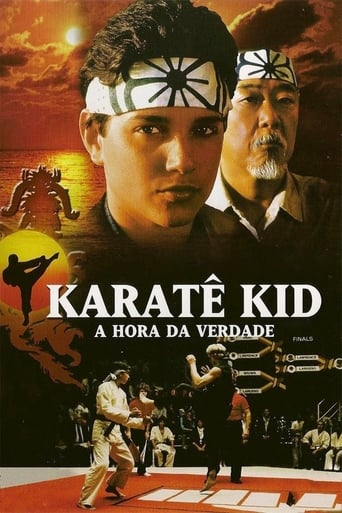 Karatê Kid: A Hora da Verdade - Poster