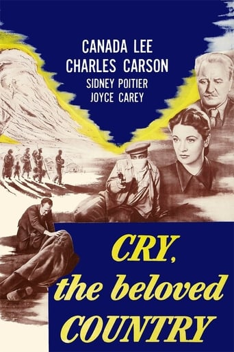 Poster of Cry, the Beloved Country