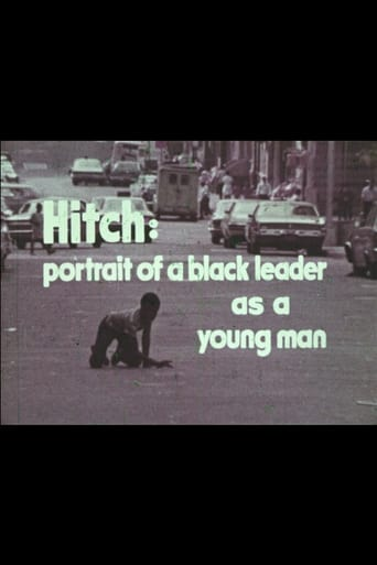 Poster of Hitch: A Portrait of a Black Leader As a Young Man