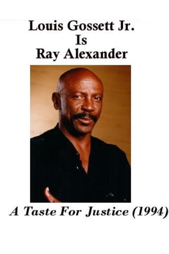 Poster of Ray Alexander: A Taste For Justice