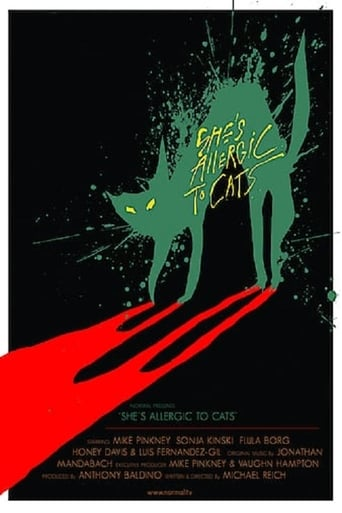 Poster of She's Allergic to Cats