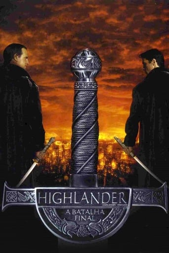 Highlander 4: A Batalha Final - Poster