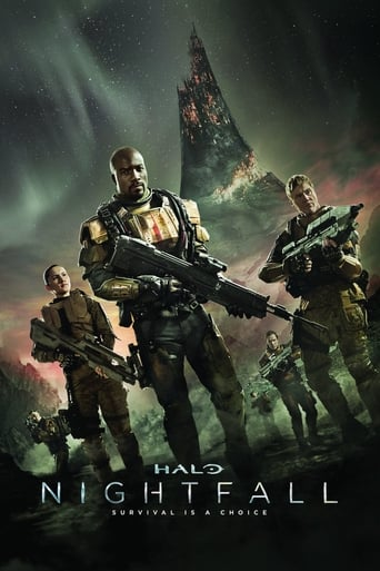 Halo Nightfall - Poster