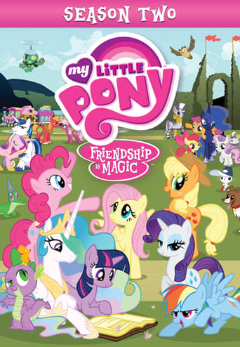 Mano mažasis ponis / My Little Pony: Friendship Is Magic (2011) 2 Sezonas