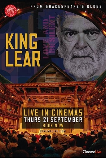 Poster of King Lear: Live from Shakespeare's Globe