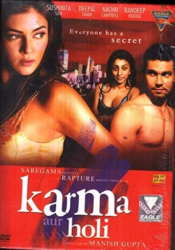 Poster of Karma, Confessions and Holi