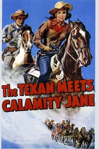 Poster of The Texan Meets Calamity Jane