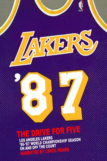 Poster of Los Angeles Lakers: '87 The Drive For Five
