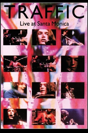 Poster of Traffic Live at Santa Monica