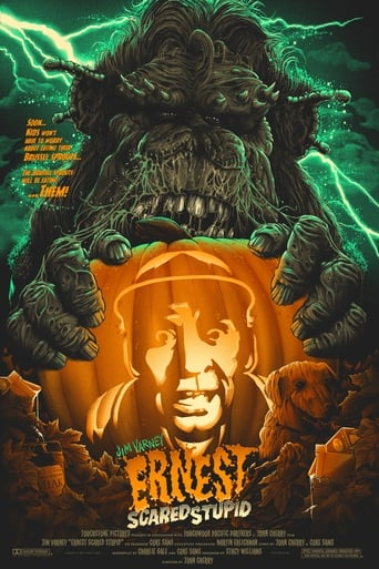 Poster of Ernest Scared Stupid